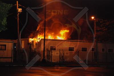 Hicksville F.D. Building Fire Nassau County DPW yard 170 Cantiague Rock Rd. 11/26/09