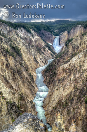 Yellowstone River,  Falls & Lake