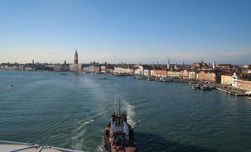 Leaving Venice