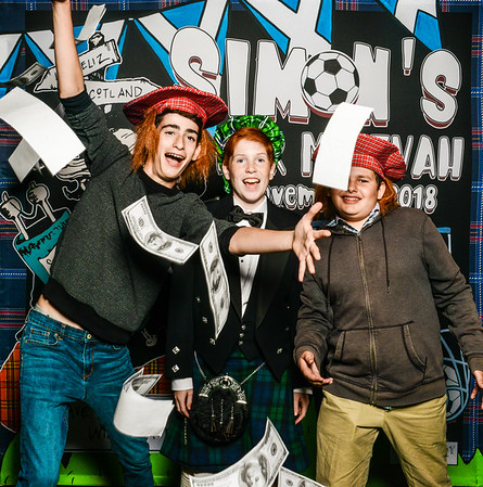 Simon's Soccer & Scottish Bar Mitzvah