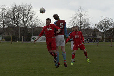 Nairn St Ninians 5 Whitehills 2, PMAC Group North Division Two, 14th April 2012