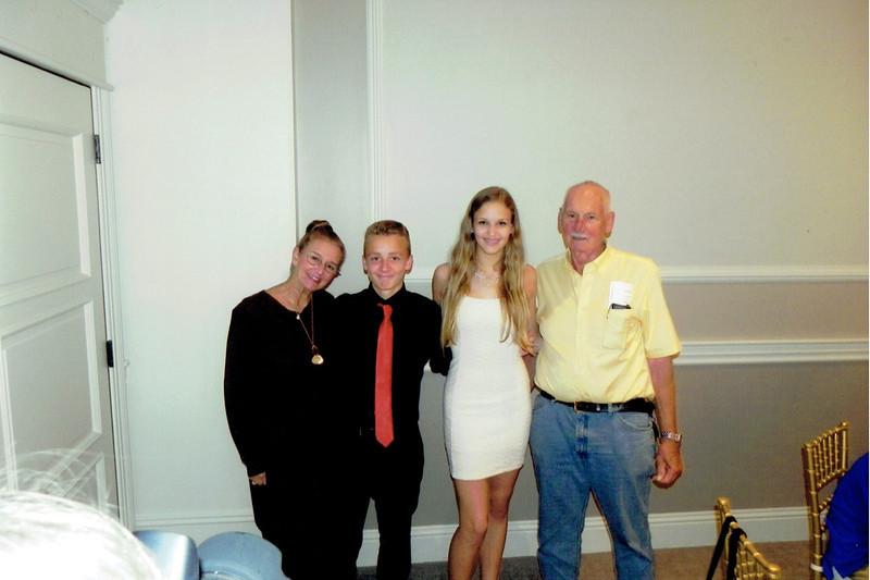 Maxine, Wyatt, Angelina, Skeet (photo courtesy of Kim Chapman)
