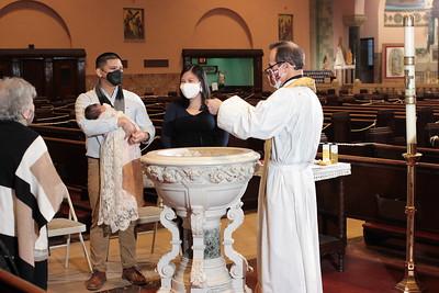 Christening of Miles Ramone Bugarin