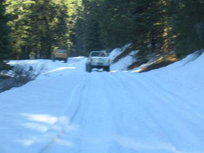 Snow Wheeling 20 Nov 05