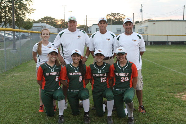 Seminole SB Seniors & Coaches 2015