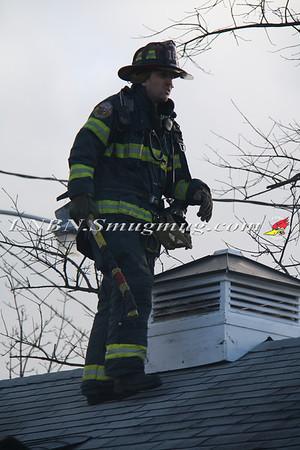 Lindenhurst F.D. House Fire 800 S Pecan St 2-27-13