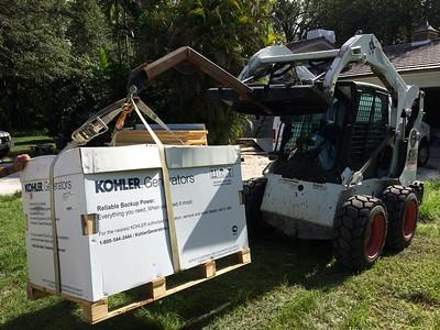 20kw kohler generator and 500 gallon tank. MIAMI, FL