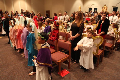 Christmas- Children's Mass 2013