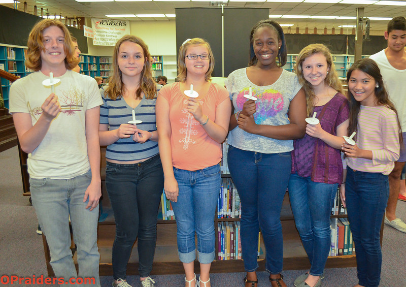 OP National Honor Society Installs New Officers