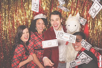 12-14-18 Atlanta The Grand Hyatt Photo Booth - AmWINS Brokerage of Georgia 2018 Holiday Party - Robot Booth