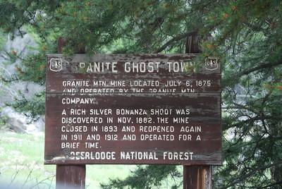 Granite Ghost Town.