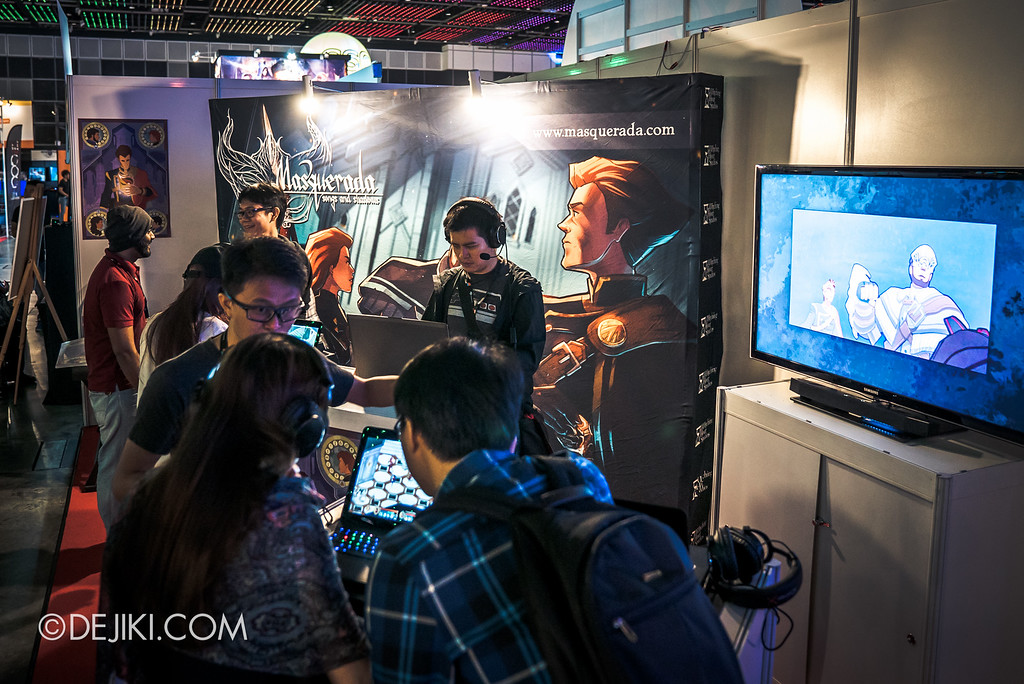 GameStart 2016 - Masquerada booth