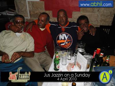 Jus Jazzin - 4th April 2010