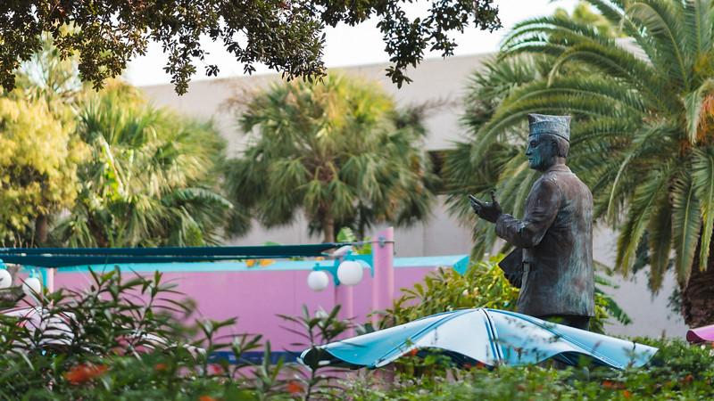 Hector P. Garcia Statue
