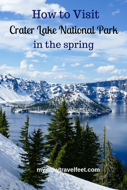 Tips for visiting Crater Lake National Park in the spring. Discover where to stay, what to do and special information on weather conditions.