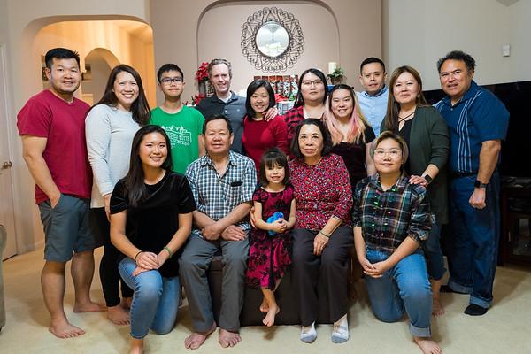 Christmas 2019 Vo Family