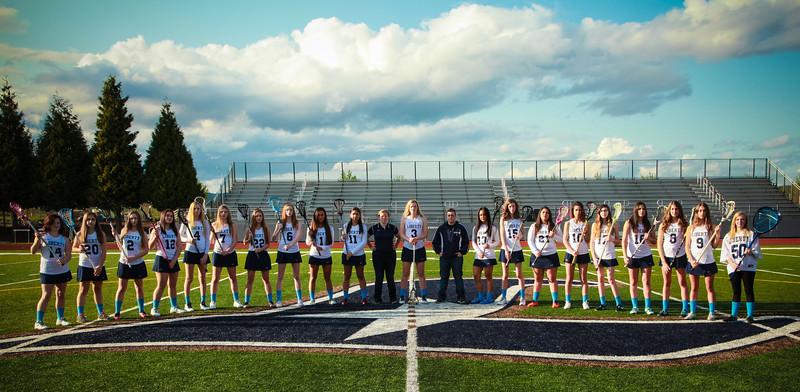 Liberty Girls Varsity Girls Lacrosse 2015