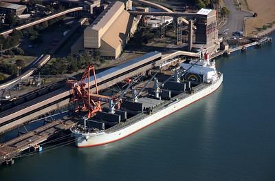 Newcastle Port 07 September 2012