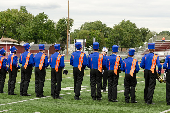2011-09-17 Dayton Coed Band - Football vs Bound Brook