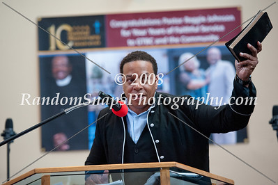 Grace Temple Baptist Church 10 Year Pastoral Celebration Service