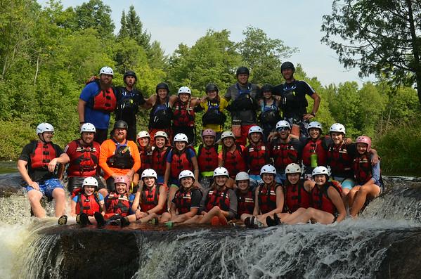 College Rafting Trip August 10-12