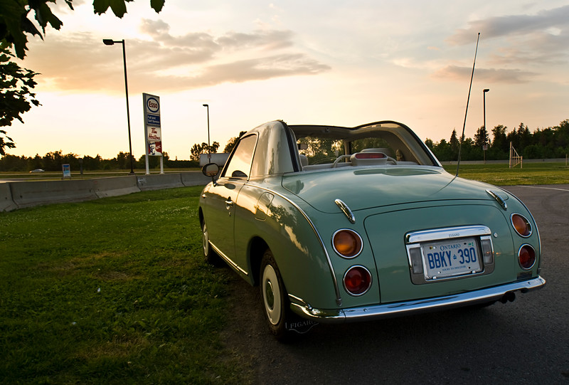 Michael Scott's 1991 Nissan Figaro, Japanese Kei car