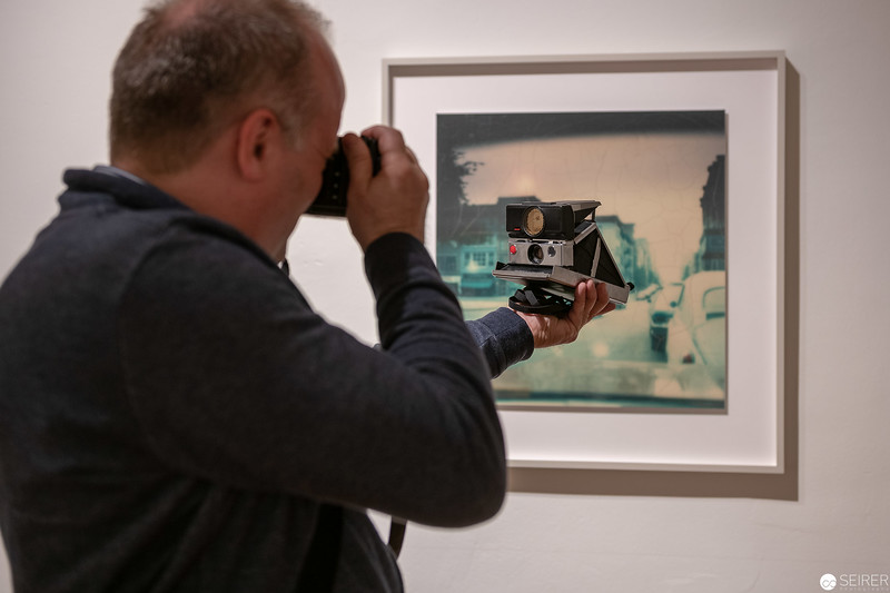 "Ausstellung ""Wim Wenders. Early Photographs 1963-1983 "" im Filmarchiv"