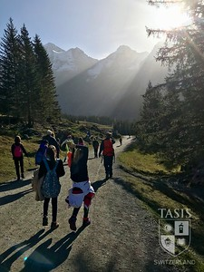 Grade Five trip to Kandersteg
