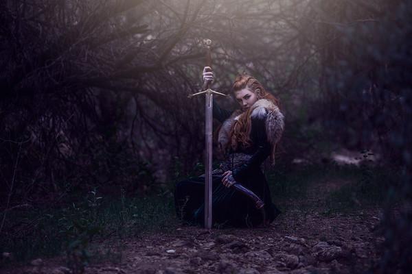 Maegan Viking Shoot