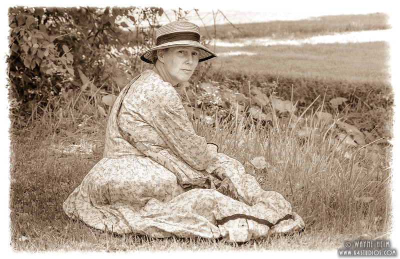 Lady Relaxing   Photography by Wayne Heim
