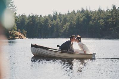 2014-07-26 Alicia and Ryan, Pike Lake, Victoria