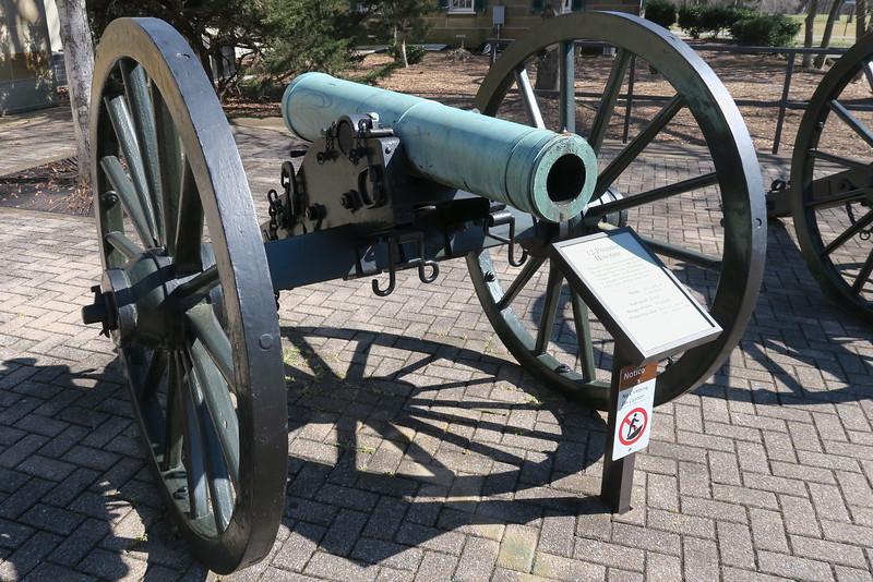 Chickamauga Visitor Center - 12-pounder Howitzer