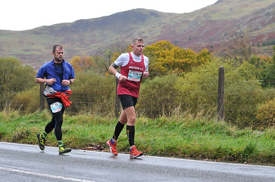 Snowdonia Marathon - Mile 14 Up Between 12.28-12.45