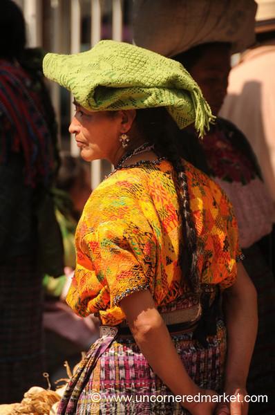 Indigenous Woman, Totonicapan Market - Guatemala
