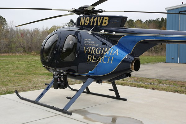 Virginia Beach Police Department 2017 MD Helicopters MD-530F, Virginia Beach, 06Apr19