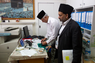 Jalsa Preparations, August 29, 2013