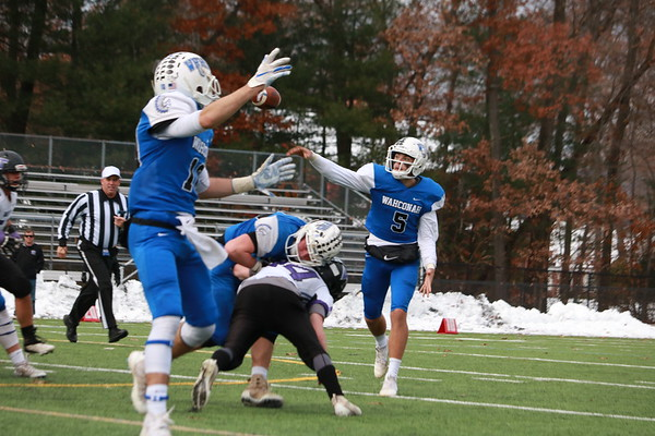 Wahconah football vs. Blackstone Valley Tech, state semifinal - 111718