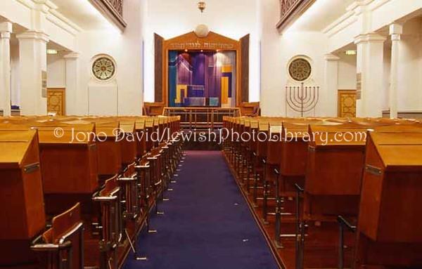 SWITZERLAND, Zurich. Lowenstrasse Synagogue. (2006)