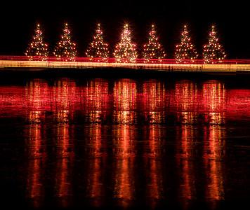 Hubbard Park Holiday Lights