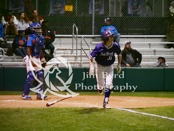 PHS baseball vs Bowie 4-2-2019