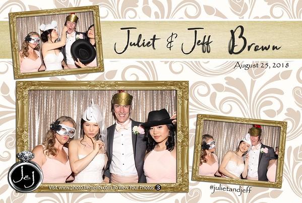 Juliet and Jeff's Wedding 8-25-18