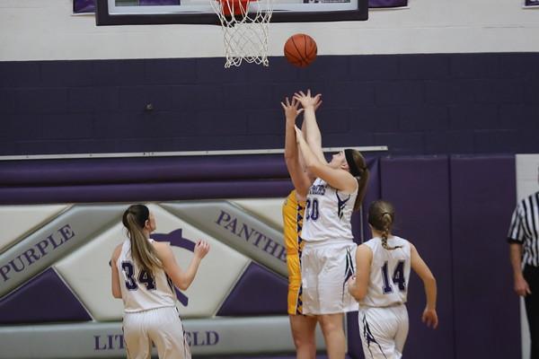 November 27, 2018 - Litchfield Girls Basketball vs. Williamsville