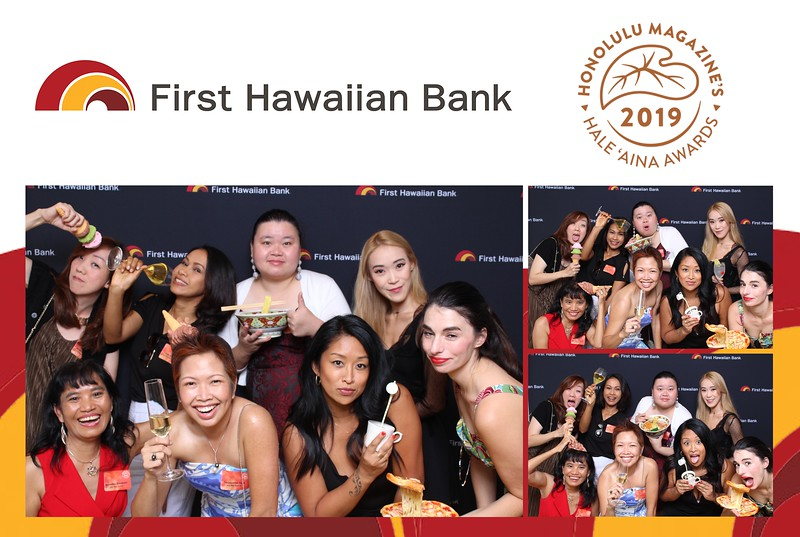 First Hawaiian Bank - Hale Aina Awards 2019 (Fusion Photo Booth)