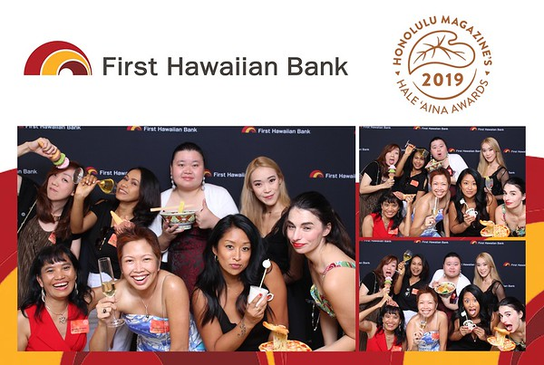 First Hawaiian Bank - Hale Aina Awards 2019 (Fusion Photo Booth)