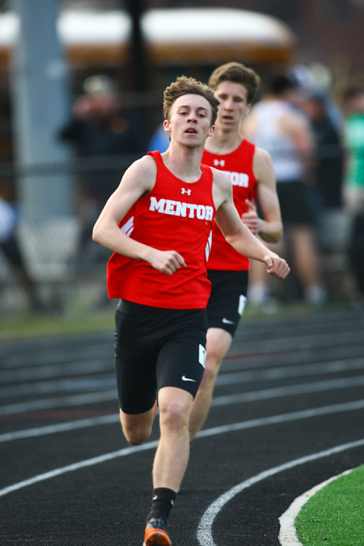 . 2018 - Track and Field - Willoughby South Invitational.  800 Meter Run.  Nick Kozlowski won from Mentor in a time of 2:00.36.