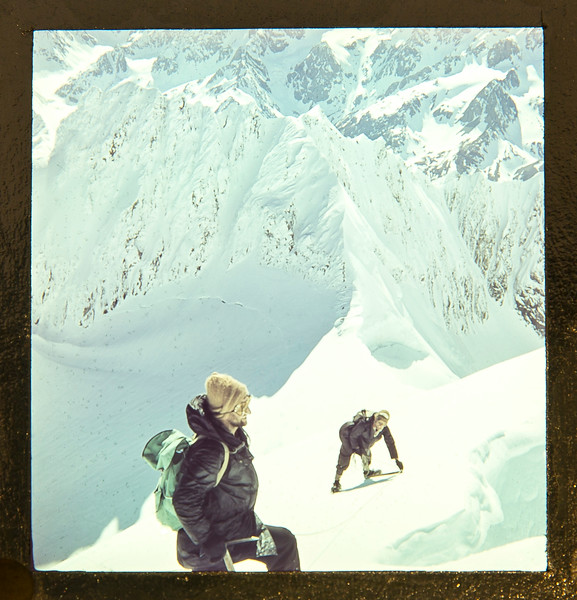 1953 John Clay and XX climbing.jpg