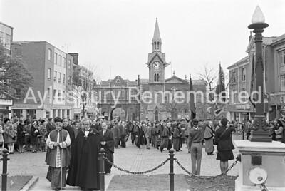 Remembrance Service, Nov 12th 1972