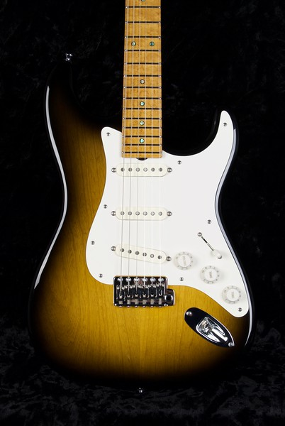 25th Anniversary NOS Retro #3756, Two Tone Burst, Grosh 60s Fat Pickups
