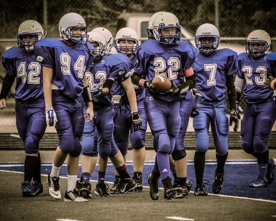 Oct 11 - Lions (blue) vs Spartans