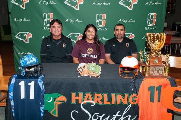 Crystal Gonzales Signing